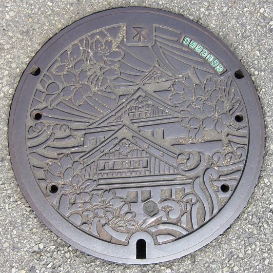 23_大阪のマンホール