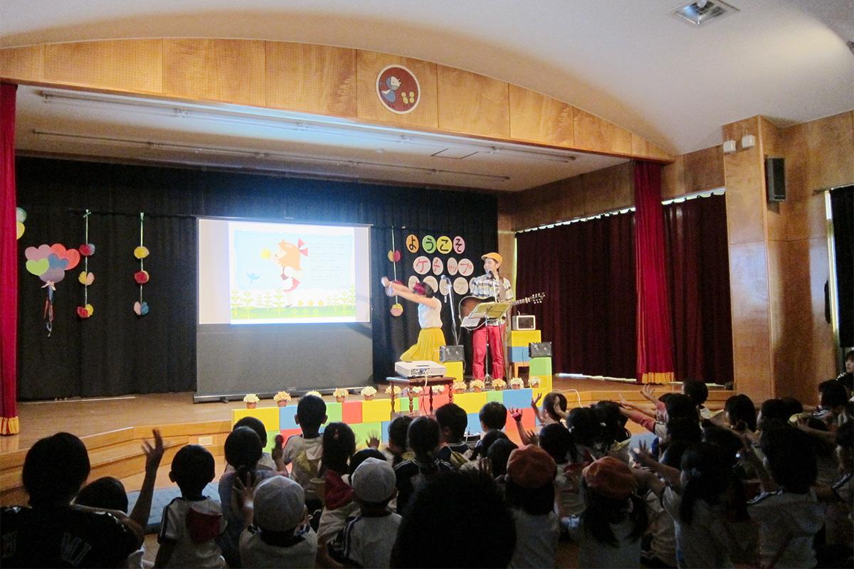 親子でふれあう日☆園内ホールでファミリーコンサート@さいたま市ひなどり幼稚園