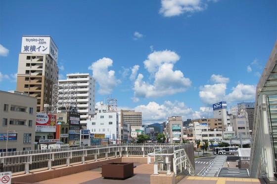 18_岡山駅をあとにします