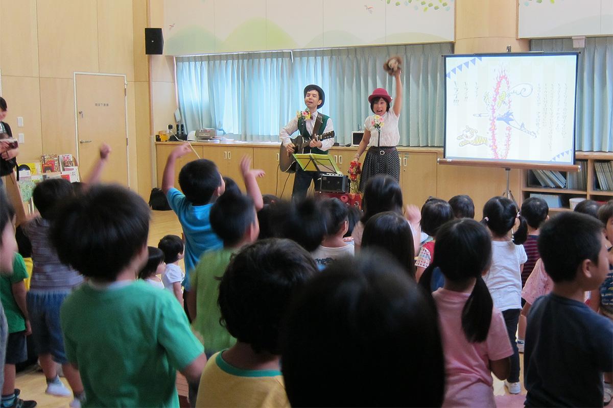 保育園父母会プレゼンツ☆大きな絵があるファミリーコンサート@世田谷区・八幡山保育園