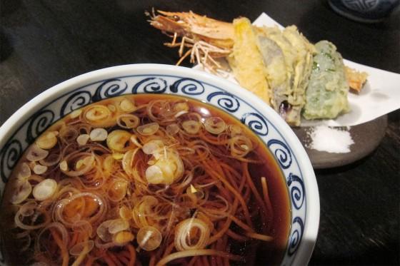 55_川上庵の天ぷら蕎麦