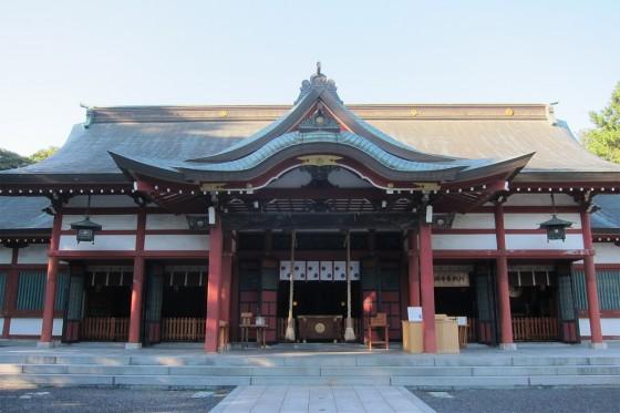 45_氣比神社の本殿