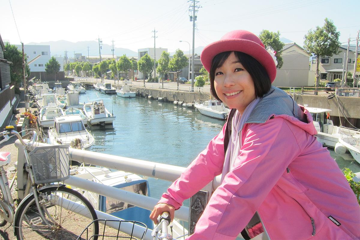 秋晴れの敦賀、サイクリング観光案内。