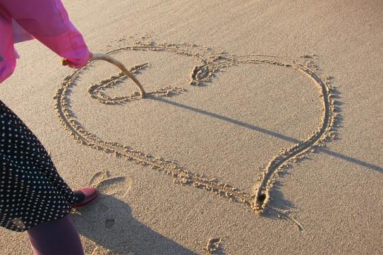 57_砂に描いたラブレター