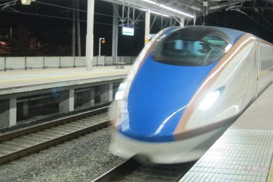 56_長野新幹線でさようなら、軽井沢。