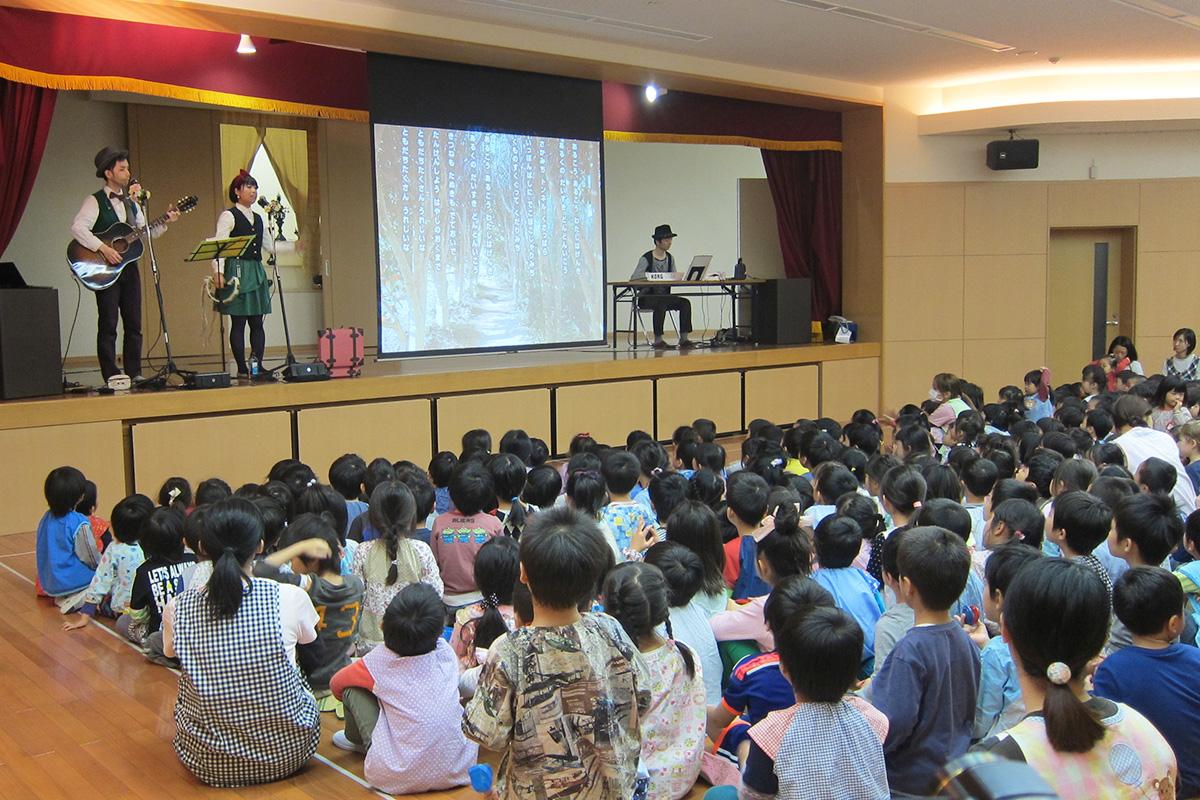 350人の園児に心を込めて@鶴見区・總持寺保育園 おたのしみ会