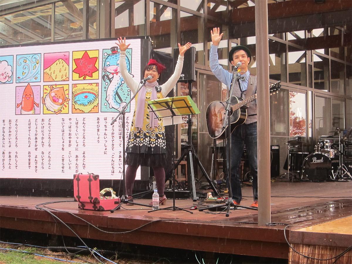上伊那郡箕輪町・KOA感謝祭2014に出演!
