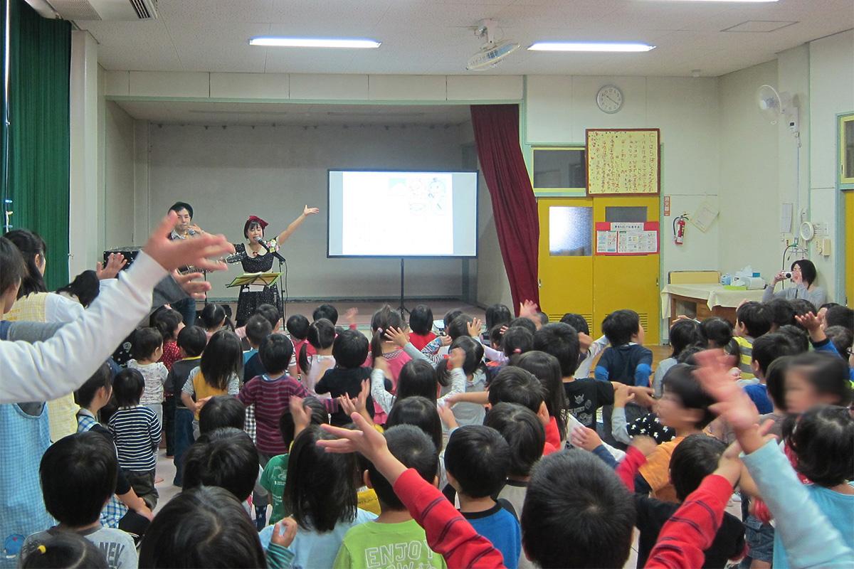 千葉県柏市・西原保育園「秋のミニコンサート♪」