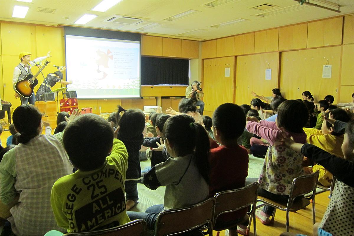 東京都大田区・矢口保育園の父母会主催のイベントに出演しました!