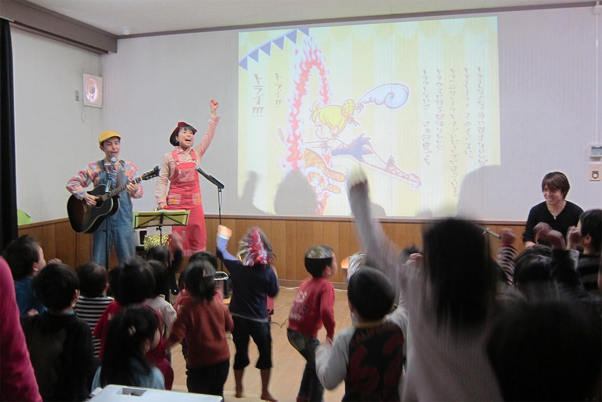3年連続3度目のご依頼!!! 千葉市の緑町保育所コンサートは今年も超盛り上がりだッ!