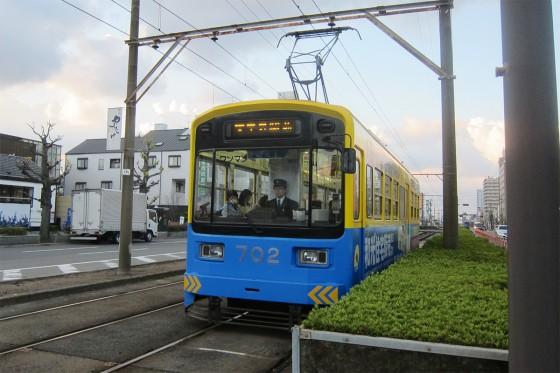 15_路面電車の阪堺電車で!