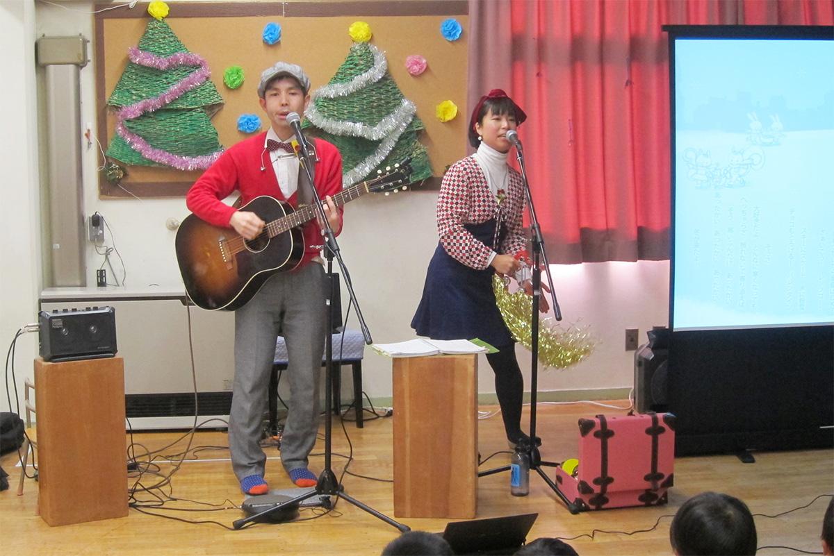 世田谷区・中町保育園でのコンサートは最初から最後までみんなハッピー!