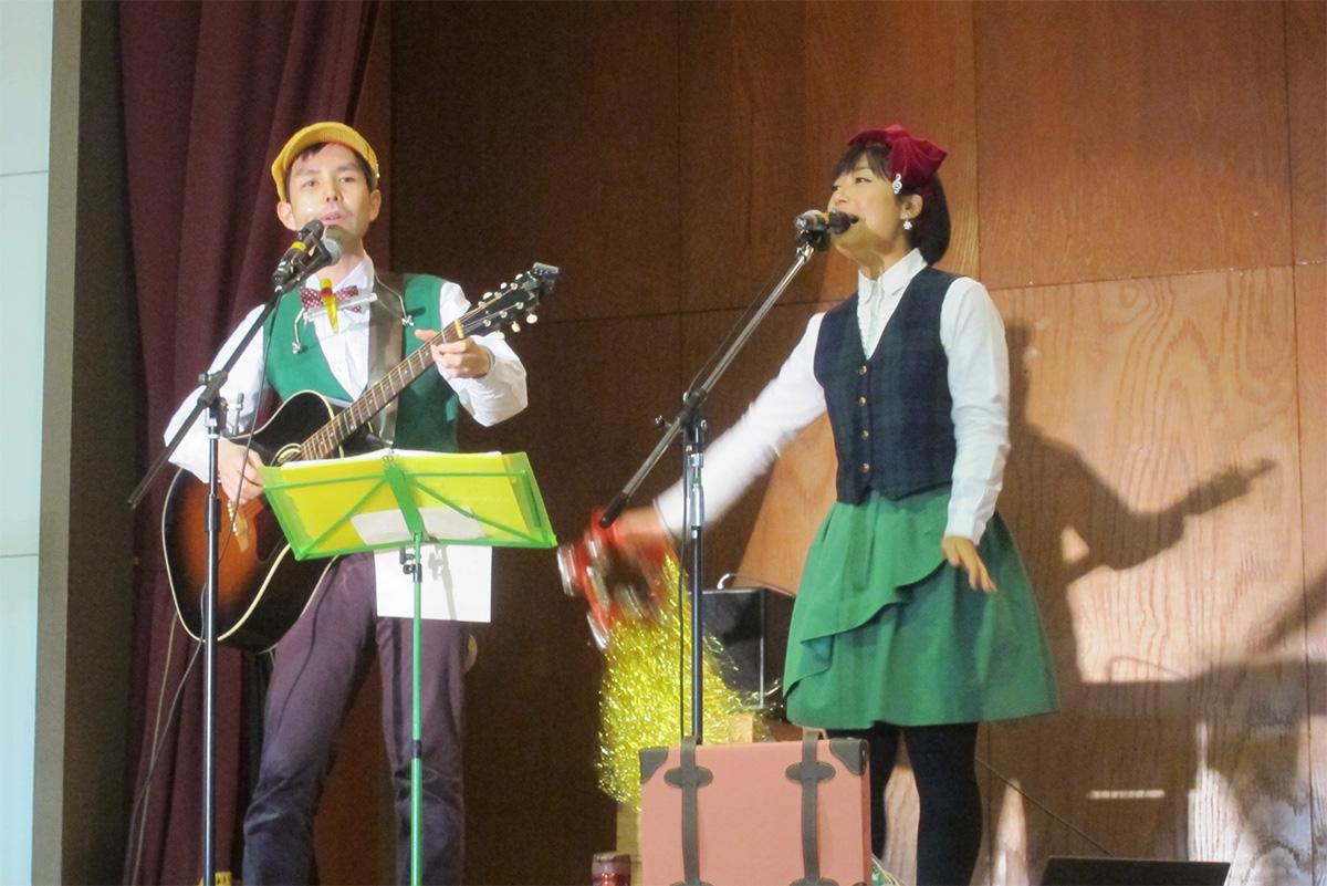 高崎市立養護学校で校内音楽会!のちクリスマス