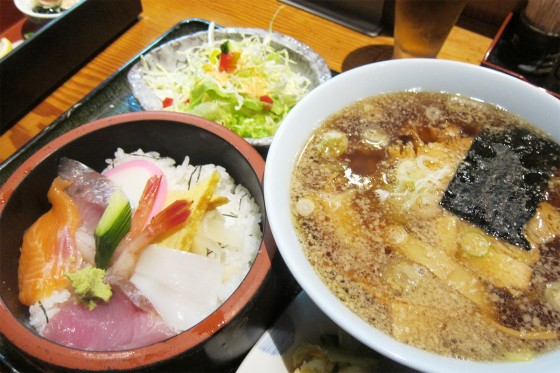 18_寿司とラーメンのセット!