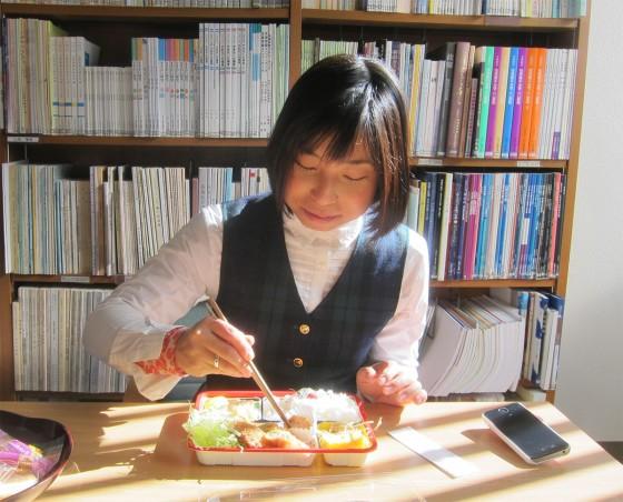 18_本でお勉強…お弁当でした。