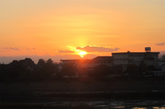 14_夕陽が沈む時~!