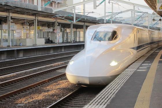 38_新幹線で帰ります