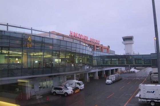 35_函館空港に到着