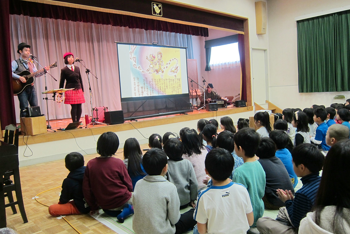 元・東住吉幼稚園だったみんな集まれ!卒園児の集いコンサートに出演しました☆