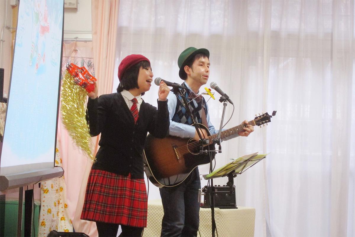 鶴見あたりでウワサのケチャマヨ☆横浜市鶴見保育園・冬のイベントに出演しました!