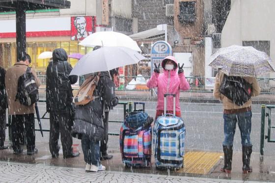 04_吉祥寺も雪でござんす
