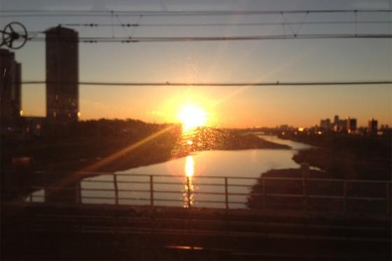 02_多摩川の夜明けぜよ