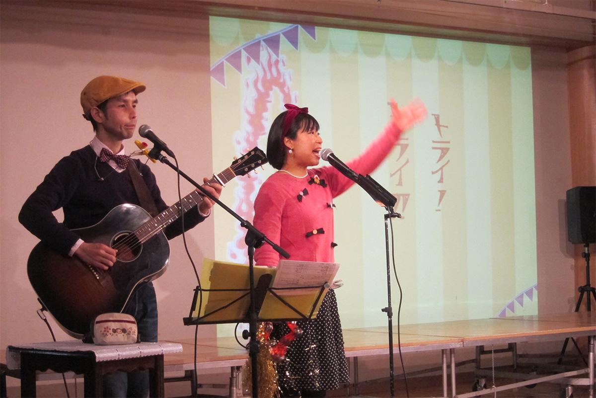 千葉県・浦安市立北部幼稚園のコンサートは2回公演で大盛り上がりだっ!