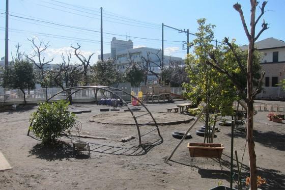 18_いい天気の園庭
