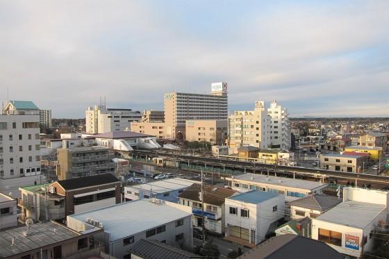 06_朝の牛久駅