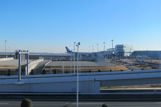 07_羽田空港を後にします