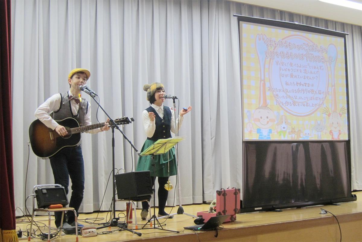 牛久市→つくば市・成蹊幼稚園での観劇会☆250人の子どもたちとコンサートライブだっ!