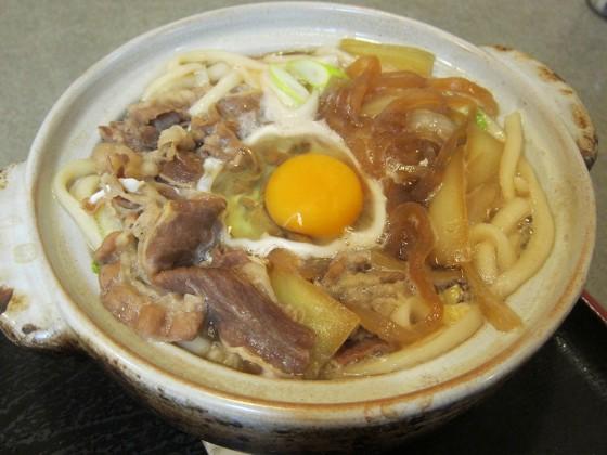 04_牛久で牛食う(すき焼き鍋焼きうどん)