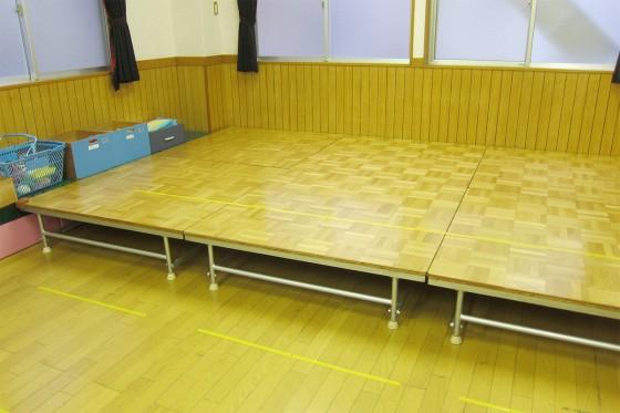 06_ステージの床は…どけて頂きました