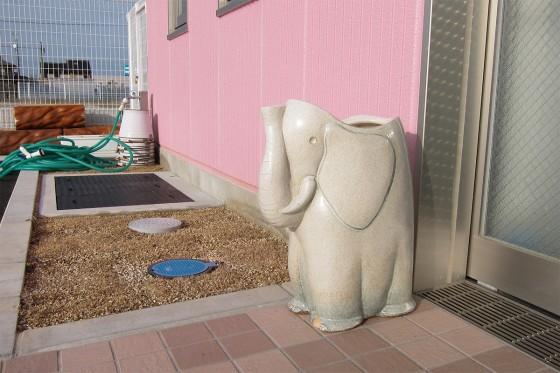 06_入野保育園のゾウその1