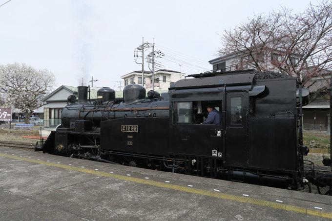 05_蒸気機関車です