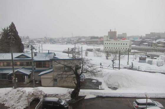 24_翌朝は雪が降っていました
