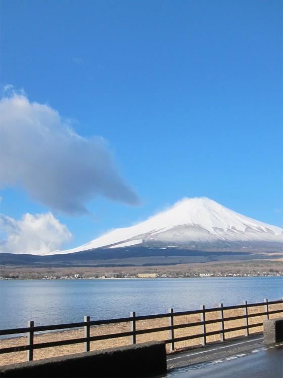 27_富士山と山中湖!最高の天気♪