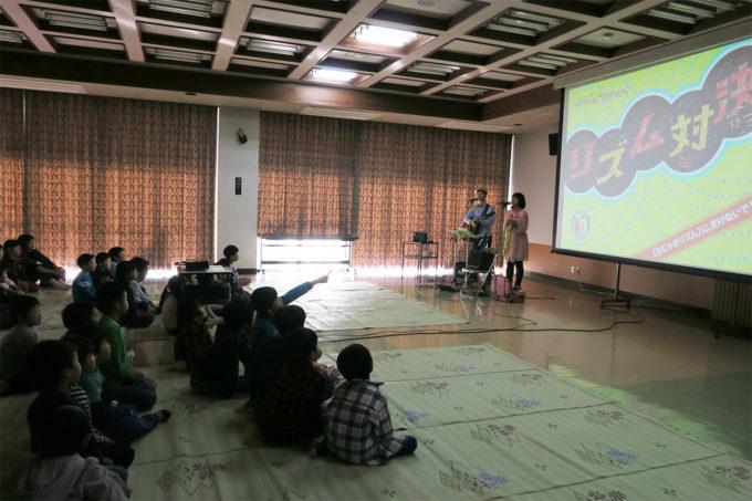 31_茂木町学童保育入所式ケチャマヨのコンサート03