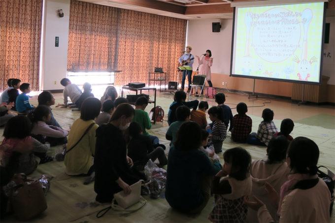 31_茂木町学童保育入所式ケチャマヨのコンサート05