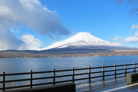 27_富士山と山中湖!