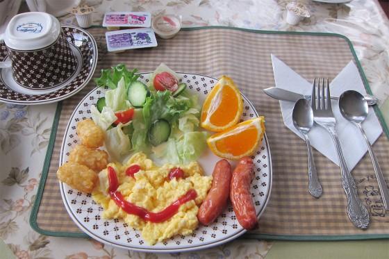 26_とっても美味しい朝食でした