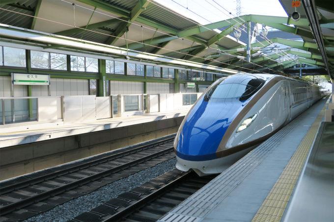 38_佐久平から北陸新幹線に乗って