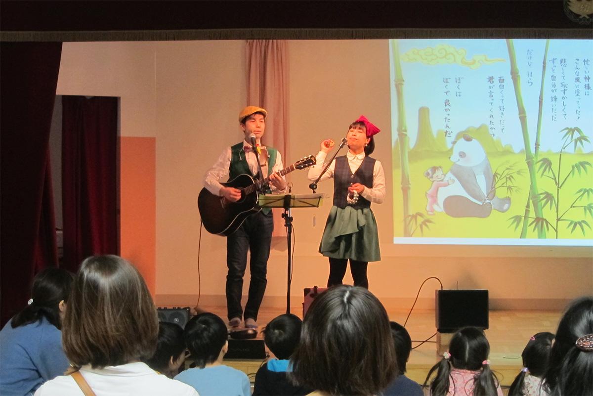 別れの春…板橋区・新河岸幼稚園のお別れコンサート