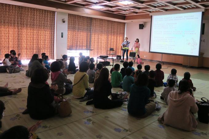 31_茂木町学童保育入所式ケチャマヨのコンサート04