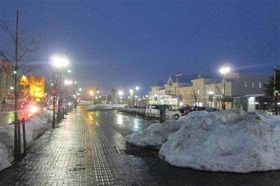 17_夜の米沢散步