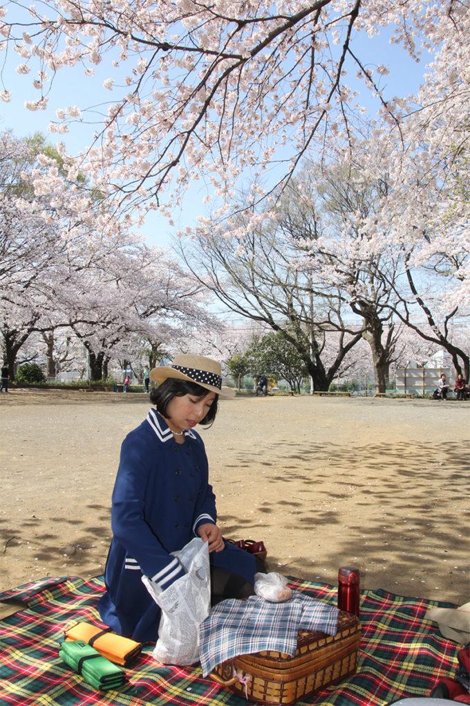 鷺沼お花見ピクニック20150331-16