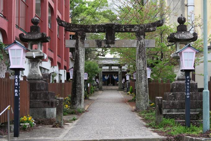 59_豊玉姫神社にやって来ました