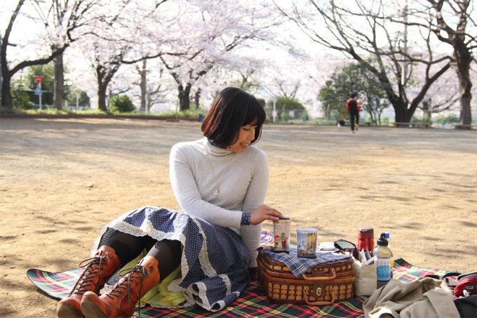 鷺沼お花見ピクニック2015-25
