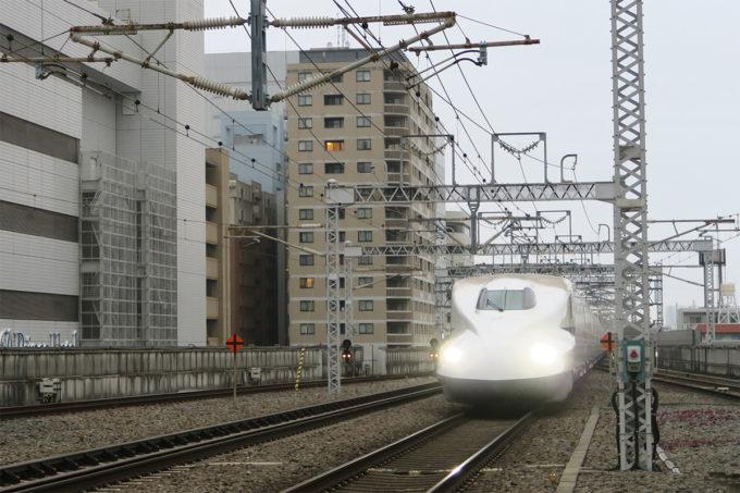 02_新幹線のぞみで出発!
