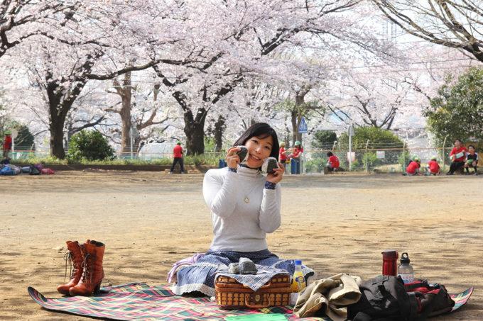 鷺沼お花見ピクニック2015-07